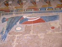 De tempel van Karnak; Egypte; Afrika Stock Fotografie