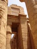 De tempel van Karnak. Luxor. Stock Fotografie