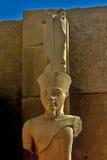 De tempel van Karnak in Luxor Stock Foto