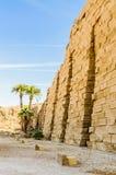De tempel van Karnak in Luxor, Egypte royalty-vrije stock foto