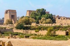 De tempel van Karnak in Luxor, Egypte. stock fotografie