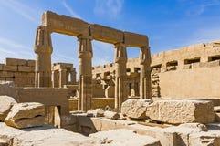 De tempel van Karnak in Luxor, Egypte. royalty-vrije stock fotografie