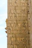 De tempel van Karnak in Luxor, Egypte, Detail stock fotografie