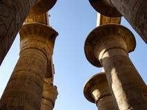 De tempel van Karnak in Luxor stock foto's
