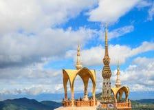 De Tempel van Keaw van de Zoon van Pha, Thailand. Royalty-vrije Stock Afbeelding