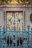 De tempel van Keng van de Thianrijnwijn in Singapore Stock Afbeeldingen