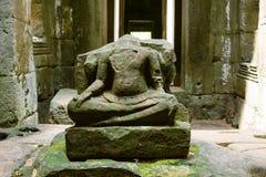 De tempel van Khan van Preah Royalty-vrije Stock Foto's