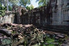 De tempel van Khan van Preah Stock Foto's