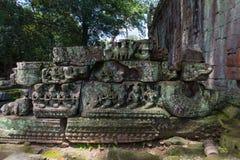 De tempel van Khan van Preah royalty-vrije stock fotografie