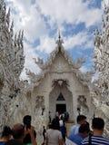 De tempel van Khun van Rong stock fotografie