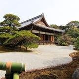 De Tempel van Kinkakuji Royalty-vrije Stock Foto