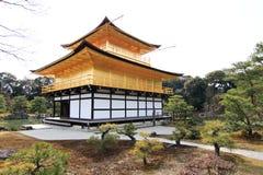 De Tempel van Kinkakuji Stock Fotografie