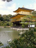 De tempel van Kinkakuji, Kyoto, Japan Royalty-vrije Stock Afbeelding