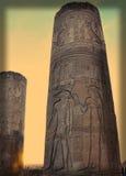 De Tempel van kom-Ombo stock foto's