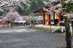 De Tempel van Kurama, Japan stock afbeeldingen