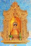 De Tempel van Kyauktawgyiboedha, Mandalay, Myanmar stock afbeeldingen