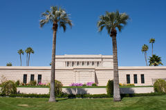 De Tempel van LDS Mesa Arizona Royalty-vrije Stock Afbeelding