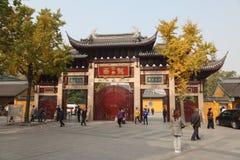 De Tempel van Longhua in Shanghai Royalty-vrije Stock Fotografie