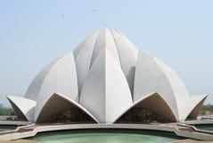 De Tempel van Lotus Royalty-vrije Stock Afbeeldingen