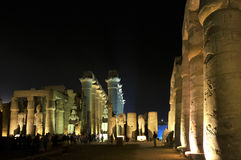 De Tempel van Luxor royalty-vrije stock foto