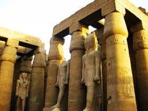 De Tempel van Luxor - Detail royalty-vrije stock foto