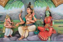 De Tempel van Mahamariamman van Sri stock afbeelding