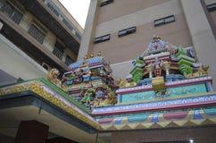 De Tempel van Mahamariamman van Sri Royalty-vrije Stock Foto