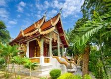 De tempel van MAI van Chiang stock afbeelding