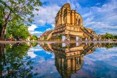 De tempel van MAI van Chiang stock foto's