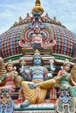 De Tempel van Mariamman van Sri, Singapore Stock Afbeeldingen