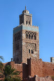 De tempel van Marokko royalty-vrije stock foto