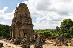 De Tempel van Mebon van het Oosten Royalty-vrije Stock Foto's