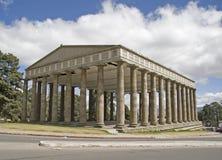 De tempel van Minerva Royalty-vrije Stock Afbeelding