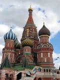 De tempel van Moskou bij Rood Vierkant Stock Foto