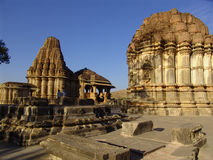 De Tempel van Nagda, Rajasthan, India Stock Foto's