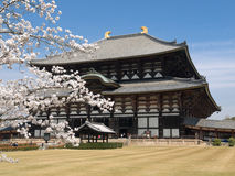 De tempel van Nara Todaiji Stock Fotografie