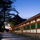 De tempel van Nara Todaiji Royalty-vrije Stock Fotografie
