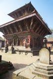 De Tempel van Narayan van Changu, Nepal Stock Afbeeldingen