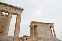 De Tempel van Niki Apteros stock afbeelding