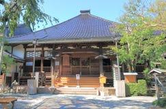 De tempel van Ninjadera in Kanazawa Japan Stock Foto