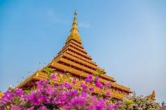 De tempel van Nongwang, Thailand Stock Foto's