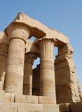 De tempel van Ombo van Kom, Egypte Stock Afbeelding