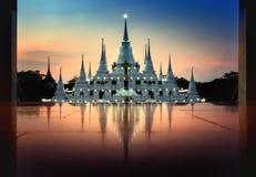 De tempel van pagodeasokaram stock foto's