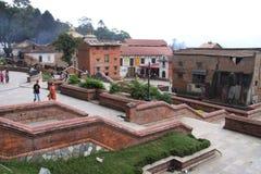 De Tempel van Pashupatinath Stock Afbeelding