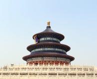 De tempel van Peking van hemel Stock Afbeelding