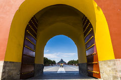 De Tempel van Peking van Hemel royalty-vrije stock foto's