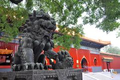 De Tempel van Peking Yonghe, China Stock Afbeeldingen