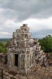 De Tempel van Phnombakheng Hindhu, Siem oogst, Kambodja Royalty-vrije Stock Afbeeldingen