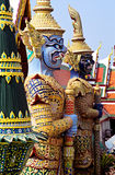 De Tempel van Phra Kaeo van Wat, Bangkok, Thailand. stock fotografie