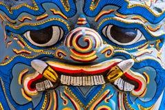 De Tempel van Phra Kaeo van Wat, Bangkok, Thailand. stock afbeelding